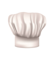 chefs hat cut out vector image vector image
