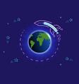 concept spread vaccine around world vector image