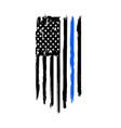 flag usa america symbol white n vector image vector image