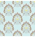 luxury royal damask seamless tiled pattern vector image vector image