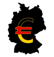 German Currency vector image