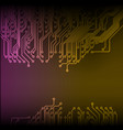 abstract technology circuit board background vector image vector image