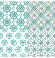 arabesque morocco seamless pattern traditional vector image vector image