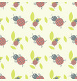 cute insects seamless pattern beautiful art vector image vector image