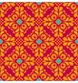 Damask floral tiled seamless pattern vector image vector image