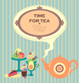Time For Tea vector image