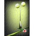 Torrential rain vector image vector image