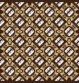 unique motifs on parang batik design with elegant vector image vector image