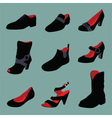 Various shoes collection vector | Price: 1 Credit (USD $1)