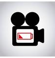 settings camera design vector image