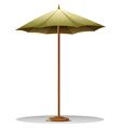 A table umbrella vector image vector image