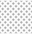 Abstract seamless pattern of crosses or plus signs