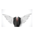 business suit wings vector image