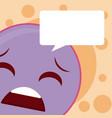 cute emoji cartoon concept vector image vector image