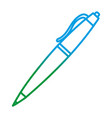 degraded line classic pen design tool object vector image