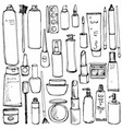 drawing cosmetics vector image