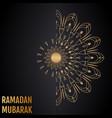 islamic background ramadan mubarak vector image