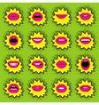 Pop Art lips vector image vector image