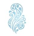 Water splash waves abstract design element vector image vector image
