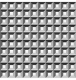 Wafer geometric seamless pattern 3D vector image