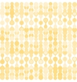 Beige metaball seamless pattern vector image vector image