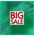 Big sale halftone concept background vector image