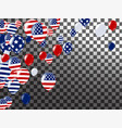 happy 4th of july holiday banner usa independence vector image