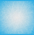 ice texture with lines vector image