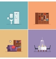 Interior Design Types Set vector image vector image