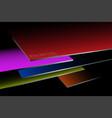 metal sheet steel stacked colors vector image vector image