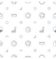 pie icons pattern seamless white background vector image vector image