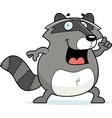 raccoon idea vector image vector image