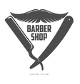 vintage barber shop logos labels badges design vector image