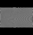 wormhole 3d optical art illusion geometric circles