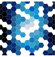 abstract background consisting of hexagons vector image