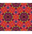 Abstract ethnic seamless pattern floral vector image vector image