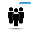 group of people icon eps 10 vector image