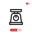 scale icon vector image vector image