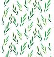 seamless texture with little green leaves for vector image