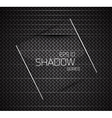 shadow background vector image vector image