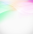 Soft light lines abstract background vector image vector image