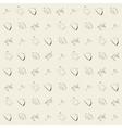 wallpaper vintage retro seamless pattern vector image