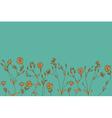 Seamless decorative vintage color design element vector image
