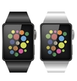 Two Smart Watches vector image