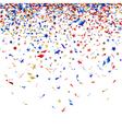 colored confetti vector image vector image