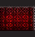 dollar icons on a red background high tech vector image vector image