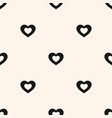 hearts valentines day love sweet seamless pattern vector image vector image