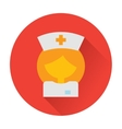 nurse doctor icon vector image vector image