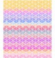 Pastel colored polygonal consist of triangles vector image vector image