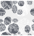 seamless pattern with beautilul stones vector image vector image